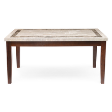 Jenn 6 Seater Dining Table - @home by Nilkamal,  walnut