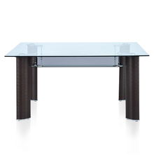 Nilkamal Bambino 6 Seater Dining Table Texture Brown