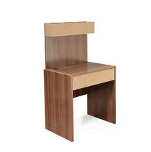 Edgar Study Table - @home by Nilkamal,  brown