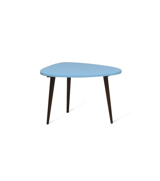 Side Table Hobbit - @home Nilkamal,  blue