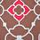Dalliance 228 x 254 cm Double Bedsheet - @home by Nilkamal, Fushcia