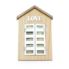 Windowpane Love MDF Photo Frame 4X6 Inch - @home by Nilkamal, White