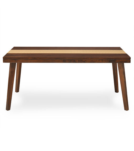 Matrix 6 Seater Dining Table - @home Nilkamal,  walnut