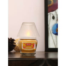 Indian Essence Lamp Candle, Yellow