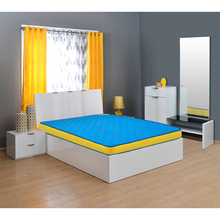 Coolbond 5 Coir Mattress - @home By Nilkamal,  blue, 79x59x5