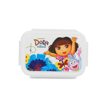 Dora Small Square Lunch Box, Beige
