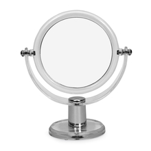 Acrylic Round Double Side Mirror - @home by Nilkamal, Transparent