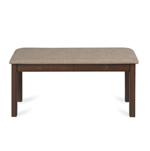 Butterfly Dining Bench - @home by Nilkamal, Burn Beech