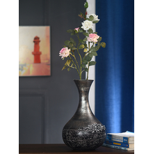 Floral 36 cm x 11 cm x 22 cm Stout Vase - @home by Nilkamal, Multicolor