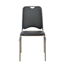 Contract 05 Soft PVC Ganging Chair - @home By Nilkamal,  black