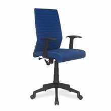 Nilkamal Thames Medium Back Fabric Office Chair, Blue