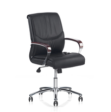 Nilkamal Boss Middle Back Chair, Black