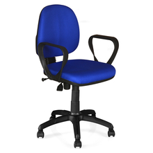Nilkamal Glamour Office Chair, Blue