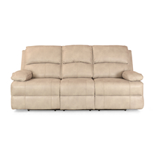 Oriel 3 Seater Sofa with 2 Electric Recliner - @home by Nilkamal, Stone Beige