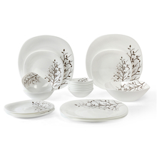 Laopala Quadra Autumnal 21 Pieces Dinner Set