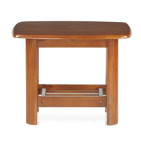 Elena Side Table - @home By Nilkamal,  wenge
