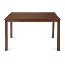 Jewel 4 Seater Dining Table, Walnut