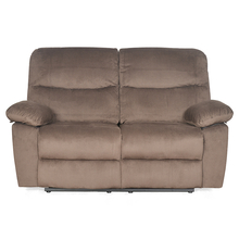 Rays 2 Seater with Manual Recliner - @home Nilkamal,  brown