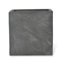 Jardin Stone Large Clay Planter - @home by Nilkamal, Stone Grey