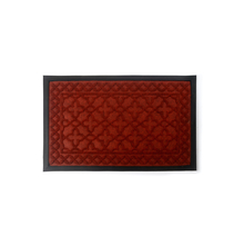 Polypropylene 45X75CM Door Mat, Red