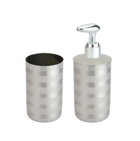 Sam International Circle Bathroom Set of 2