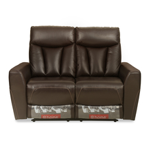 Ranger 2 Seater Sofa with 2 Manual Recliner, Dark Expresso