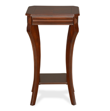 Fuller Pedestal Table - @home by Nilkamal, Walnut
