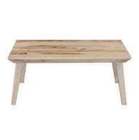 Magix Center Table - @home by Nilkamal, White Natural