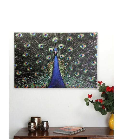 Forest Peacock 60x90cm Picture Frame -@home by Nilkamal, Indigo