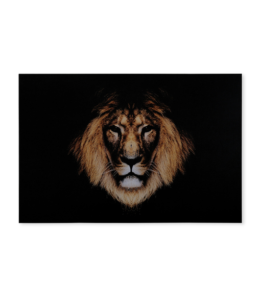 Forest Lion 60x90cm Picture Frame -@home by Nilkamal, Yellow