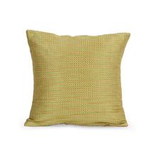Dobby Checks 30 cm x 30 cm Set of 2 Cushion Covers, Green