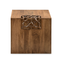 Batik Side Table - @home by Nilkamal, Cherry