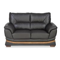 Markos 2 Seater Sofa, Dark Brown