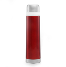 Bergner Steel Vacuum Flask with Bag - Maroon