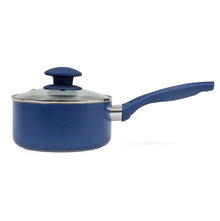 Bergner Diamanti 16 cm Sauce Pan With Lid, Blue