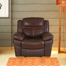 Lexus 1 Seater Sofa with Electric Recliner, Mocha Chocolate