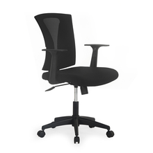 Nilkamal Centura Mid Back Office Chair, Black