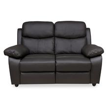 Civic 2 Seater Sofa, Mega Brown