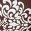 Baroque 40 x 40 cm Filled Cushion - @home by Nilkamal, Brown