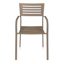 Nilkamal Retro Chair With Arm, Grey
