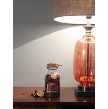Glass Bottle Potpourrie, Brown