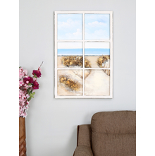 Window Seaview 60X90CM Painting, Multicolor