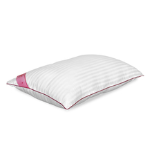 Trance 46 cm x 69 cm Pillow - @home by Nilkamal, White