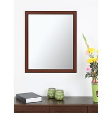 Contemporary 50X60CM Mirror, Brown