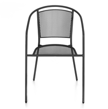 Nilkamal Alfredo Chair With Arm, Black