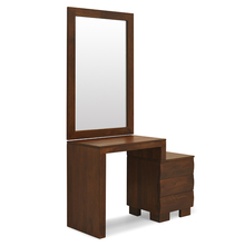 Waves Dresser Mirror - @home Nilkamal,  walnut