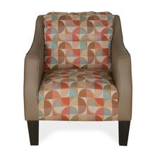 Martini Arm Chair, Peach