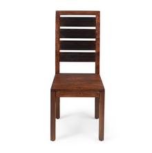 Tiara Dining Chair - @home by Nilkamal, Dark Honey Brown
