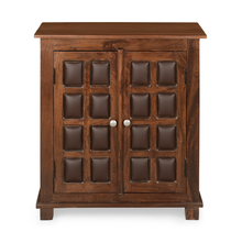 Buddha Storage Cabinet - @home by Nilkamal, Dark Walnut