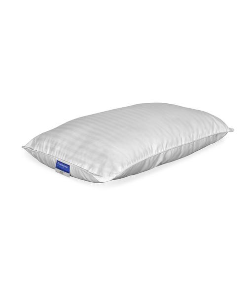 Nilkamal Fern Dorby Stripe 46 cm x 69 cm Pillow, White